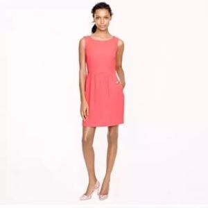 J.CREW Coral Sleeveless Dress